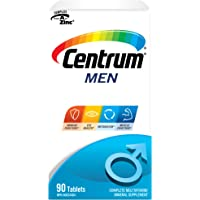 Centrum Men (90 Count) Multivitamin/Multimineral Supplement Tablet, Vitamin B