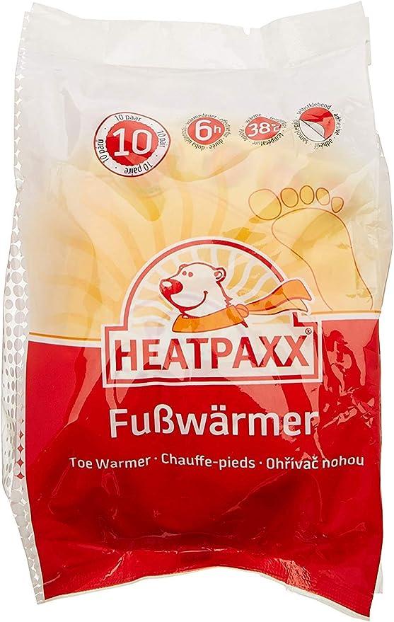 endlich Wieder warme F/ü/ße HeatPaxx Sohlenw/ärmer 30 x 2 oder 5 x 2 Einlegesohlen im praktischen Vorteilspack Hauchd/ünne Fu/ßw/ärmer f/ür unterwegs