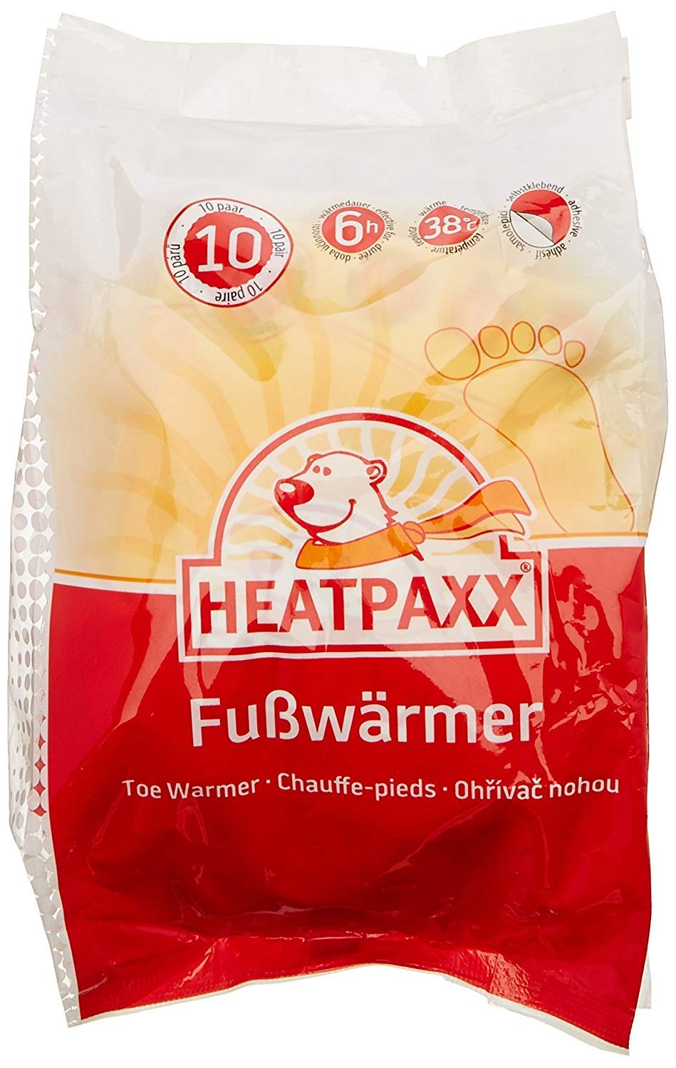 15 or 40 heat patches in a value pack Heatpaxx Body Warmer Thin Heat Patches to provide heat precisely where it is needed 5