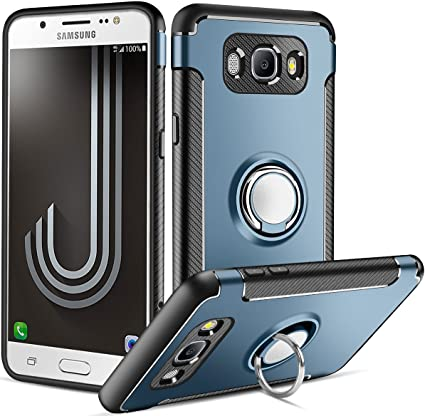 Funda Samsung Galaxy J7 2016,Coolden Galaxy J710 Funda con Anillo ...