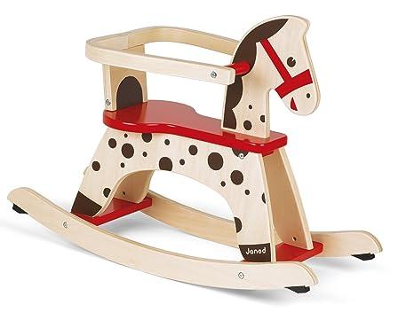 Ikea Cavallo Dondolo.Janod J05984 Cavallo A Dondolo Caramel