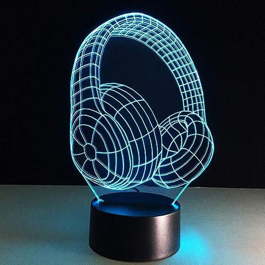 Luz Fantasma 3D Bebé Luces Led USB Panel Acrílico Tabla lámpara de ...