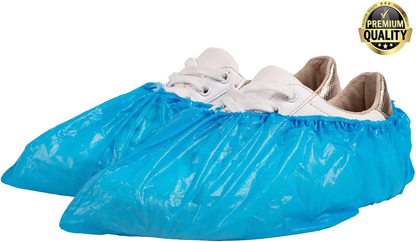 Non-Slip 100 Pack of Disposable Shoe