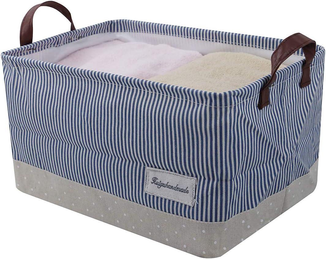 Spielzeug-Organisator F/ür Baby-Speicher u Regallagerbeh/älter iwill CREATE PRO Aufbewahrungsk/örbe Kinderk/örbe Beige 100/% Baumwolle