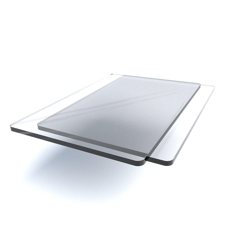 Goffratura piastra tappetino da taglio, compatibile con molti machines (2pezzi) 152mm x 225mm x 5mm Clear Focus Displays