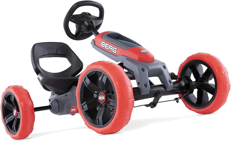 Berg 24.60.01.00 Reppy Racer - Caña de Pescar, Color Naranja y Gris
