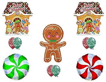 Amazon Com Christmas Gingerbread Man Birthday Party