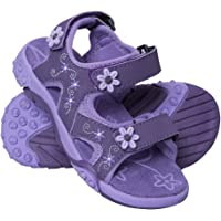 Mountain Warehouse Seaside Junior Sandals - Neoprene Lining, Flexible Kids Summer Shoes, Removable Heel Strap Beach Shoes - for Spring Walking, Travelling & Beach