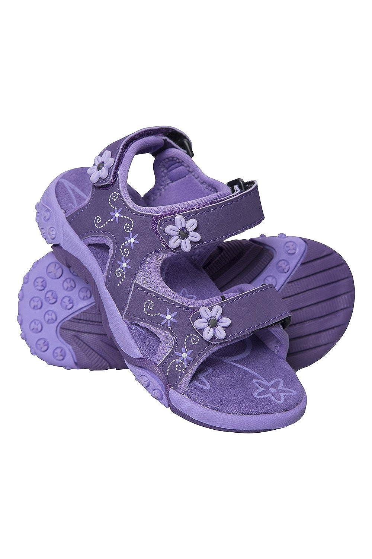 Mountain Warehouse Sandalias Seaside para jóvenes - Forro de Neopreno, Zapatos de Verano Flexibles para niños, Chanclas con Tira en el talón Desmontable