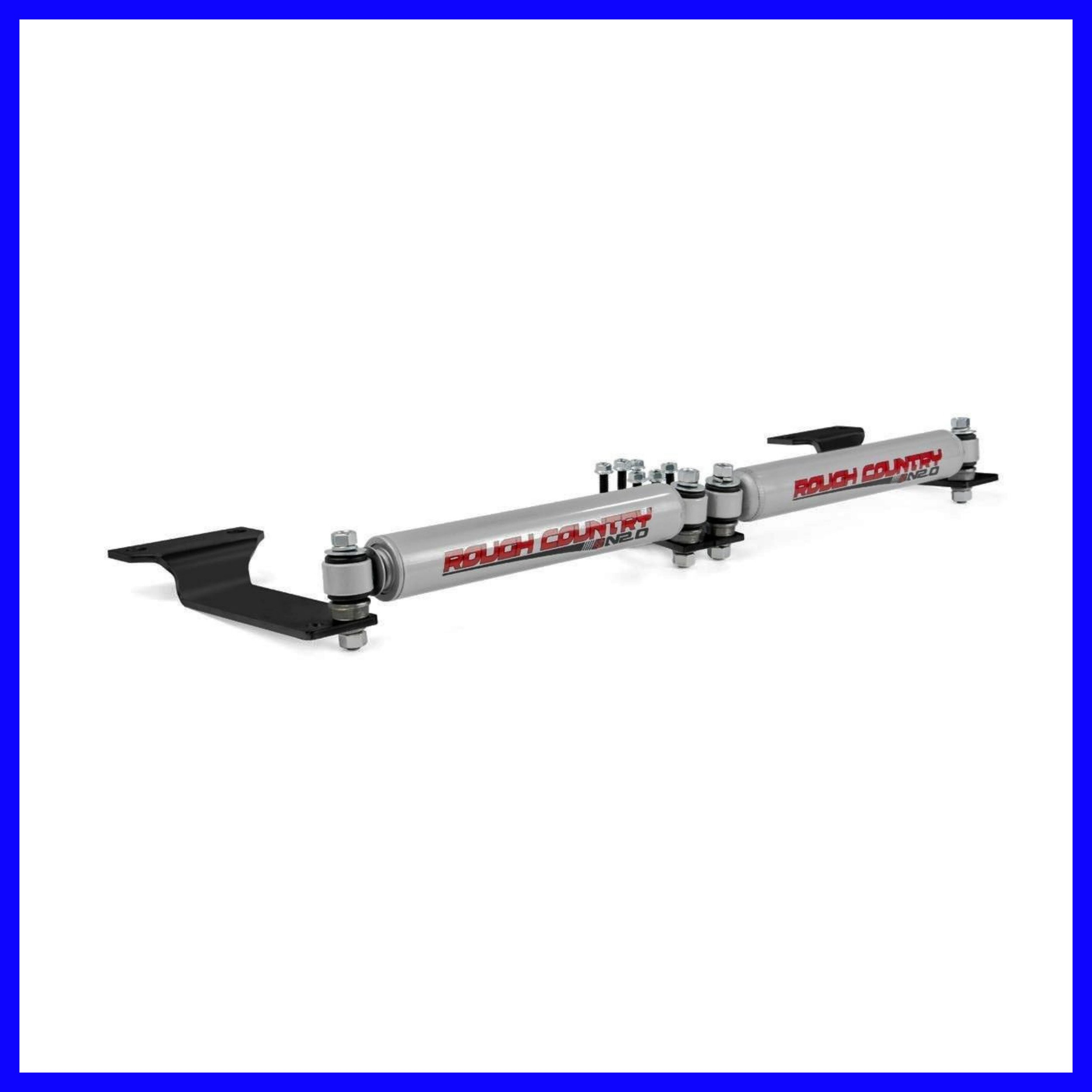 Ford Steering Stabilizer Super Duty Dual F250 F350 1999-2004 4WD Reduces Bump-steer 87490.20- House Deals