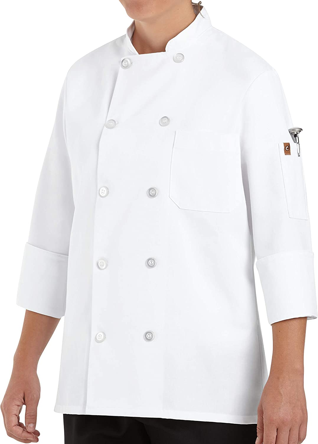 Chef Designs Women's Chef Coat: Clothing