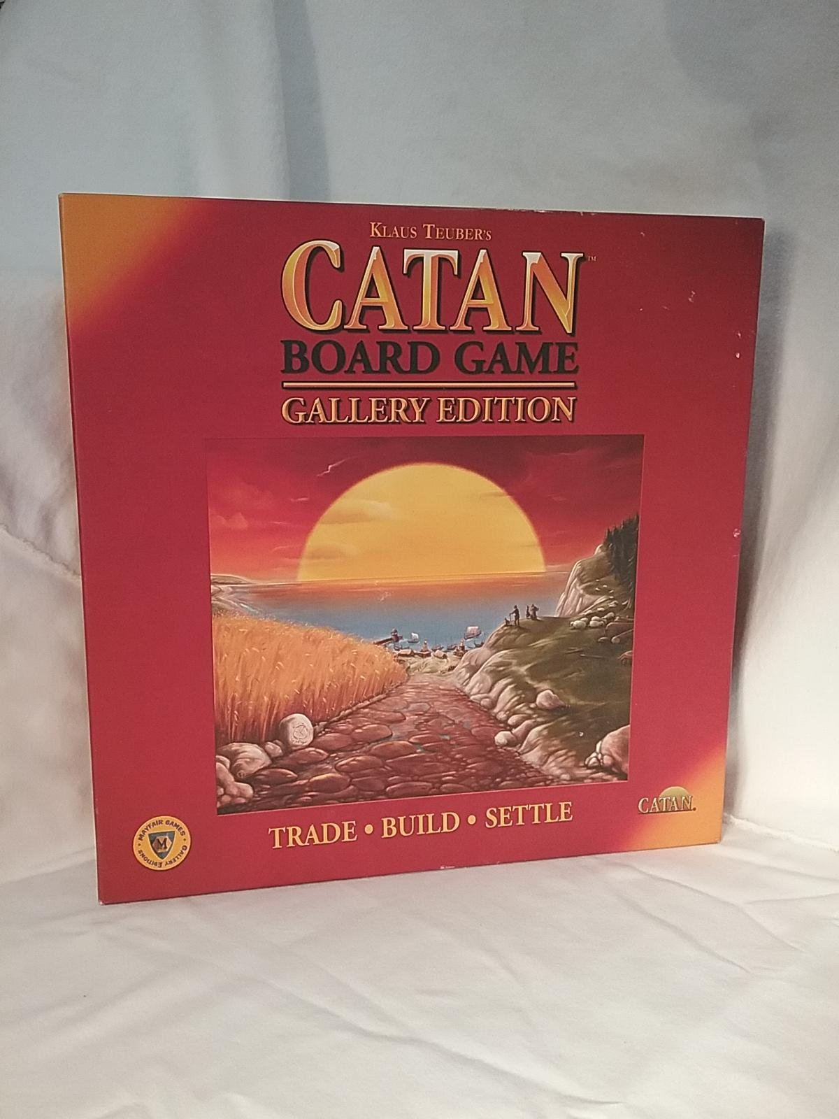 Settlers of Catan Gallery Edition: Amazon.es: Mayfair Games: Libros en idiomas extranjeros