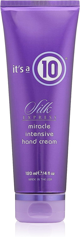 It's a 10 Haircare Silk Express Miracle Silk Intensive Hand Cream, 4 fl. oz.