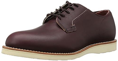Zapato De Hombre De Oxford De Cartero De Red Wing UK8.5 EU42.5 US9.5 Merlot Mesa IMgPeSE