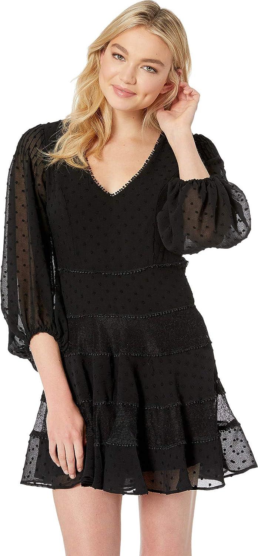 Black Bardot Womens Mae Lace Dress