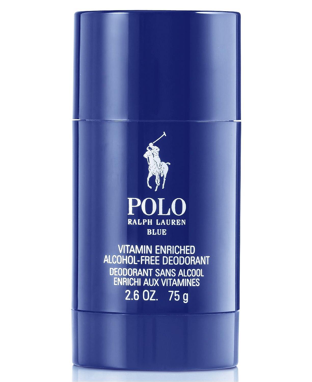 Amazon.com : Polo Blue Ralph Lauren Deodorant Stick 2.6 Oz For Men ...