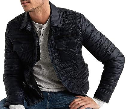 6e4ba66305 Lucky Brand Men s Diamond Quilted Shirt Jacket