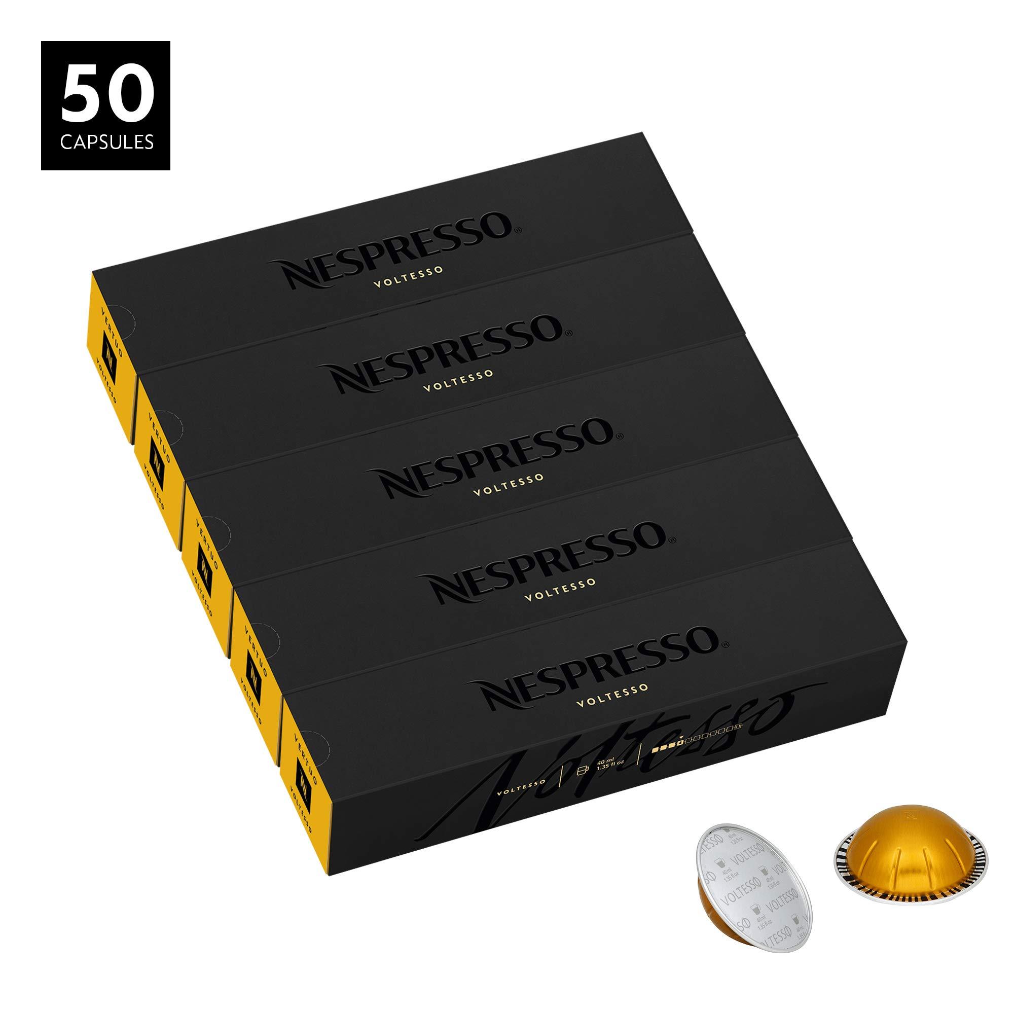 Nespresso VertuoLine Espresso, Voltesso, 50 Capsules