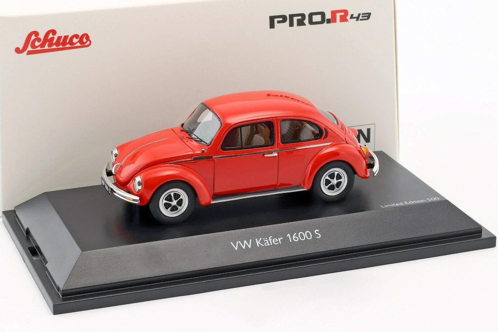 Simba Dickie 450903900Model Miniature VW Beetle 1600S 1: 43