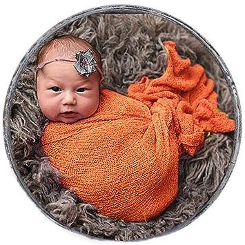 Amazon Com Sunmig Newborn Baby Stretch Wrap Photo Props Wrap Baby