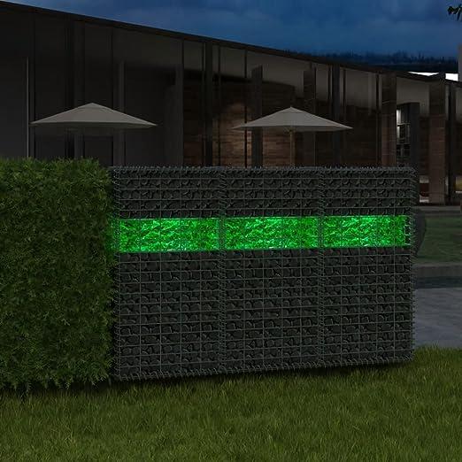 Tidyard 25kg Piedra Decorativa para Jardín Rocas de Gavión para Cestas y Paredes de Gabion Vidrio Verde 60-120mm: Amazon.es: Hogar