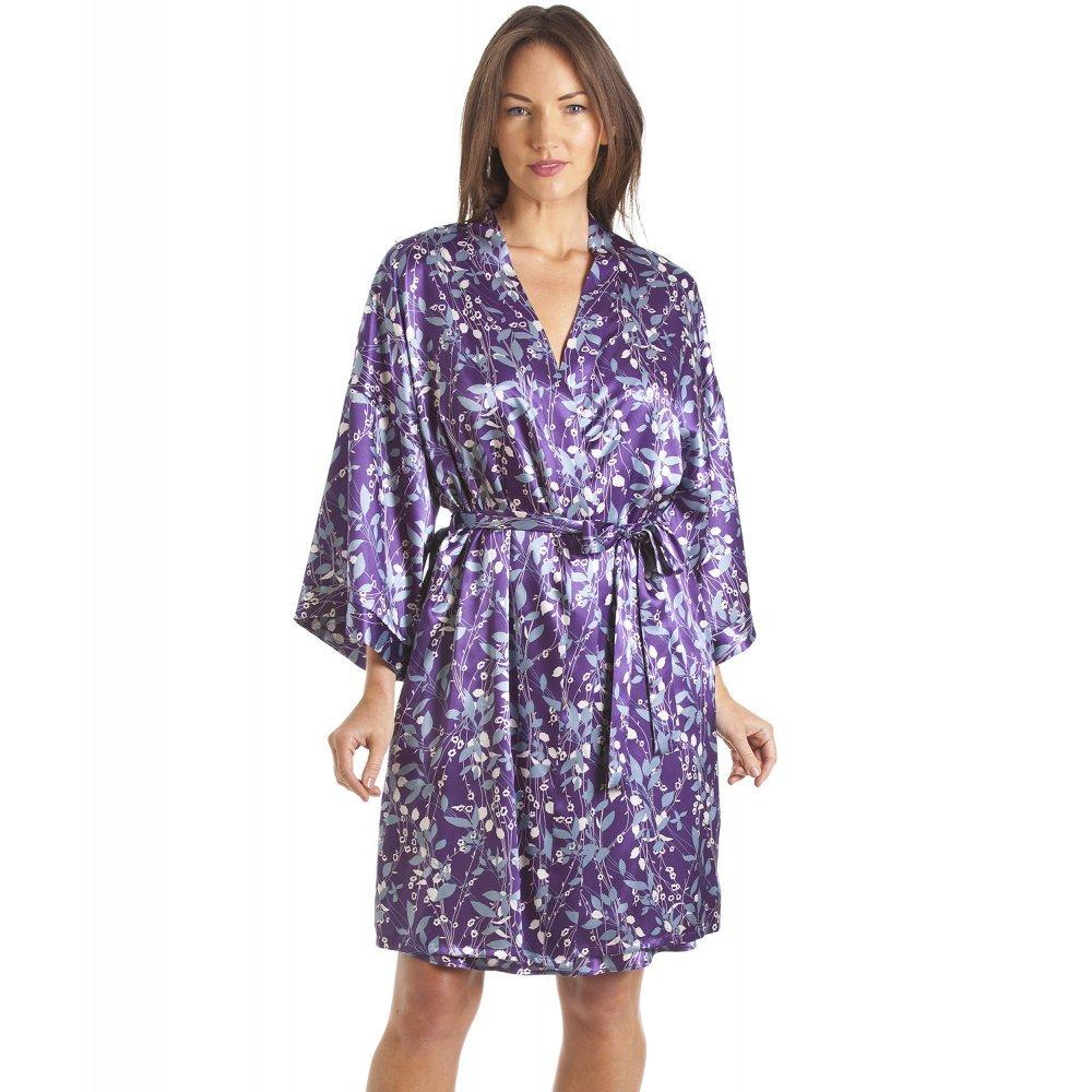 Conjunto de camisón y Bata Estilo Kimono - Estampado Floral ...