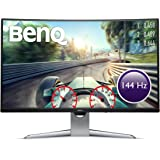 BenQ 31.5 inch Curved Gaming Monitor ( EX3203R ), 2K QHD, 144Hz, FreeSync™ 2, Display HDR 400, Low Latency, 4ms, USB Type-C™, 1800R, Height Adjustment Stand, HDMI, DP, Eye-care, Anti-glare