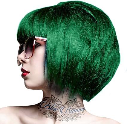 Tinte capilar Semi-Permanente de Crazy Color 100ml (Emerald Green - Verde Esmeralda)