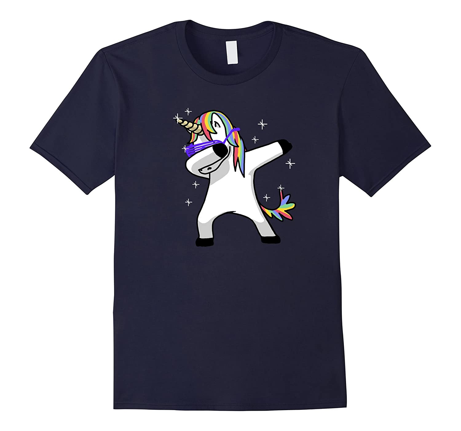 1837f1666 Dabbing Unicorn Shirt Dab Hip Hop Funny Magic-ANZ ⋆ Anztshirt