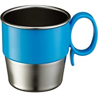 Innobaby Din Din Smart Stainless Steel Cup, Blue, 9.5 Ounce, 11 Ounces