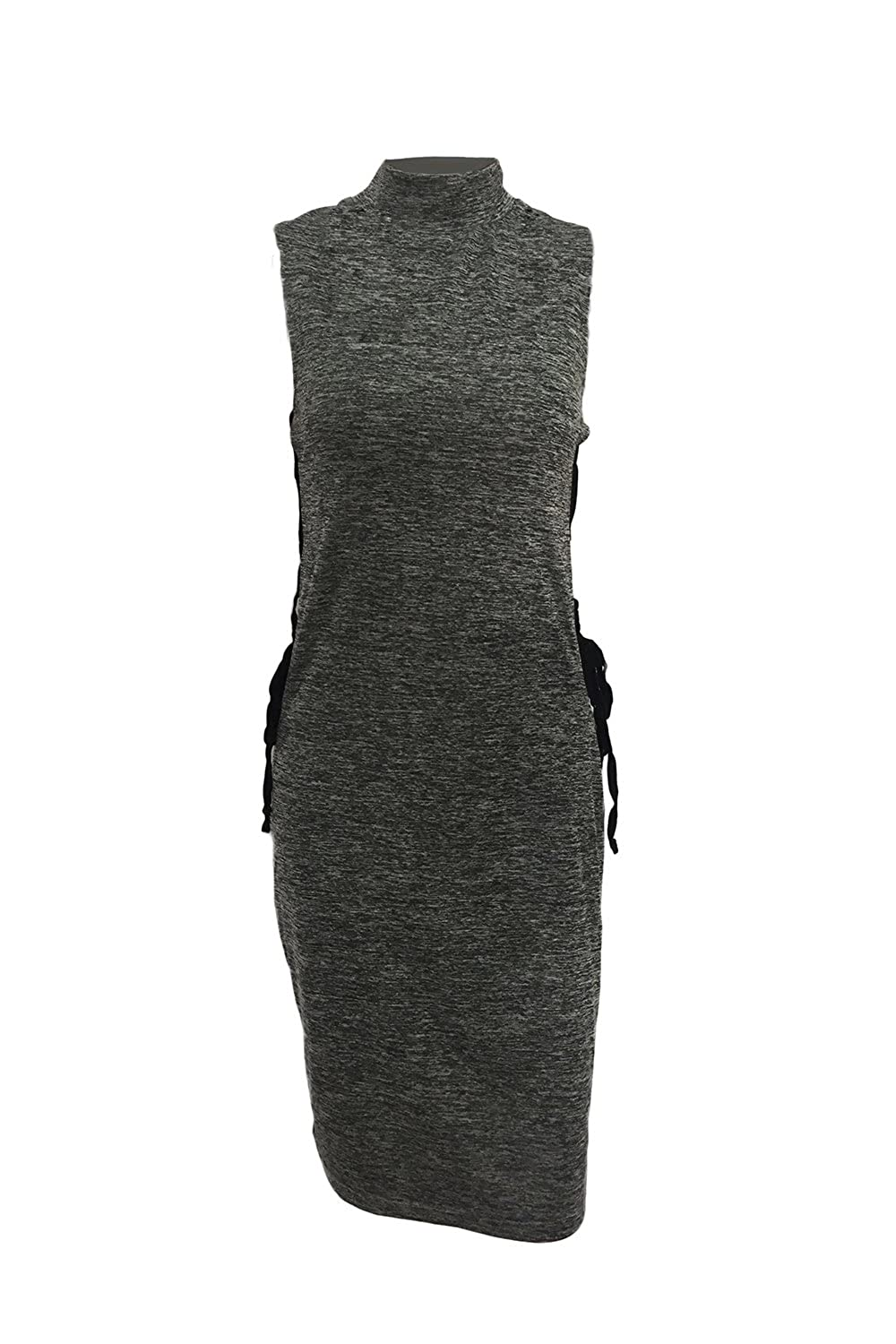 Women's Sexy Hollow Out Sleeveless Slim Bodycon Dress