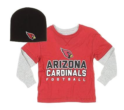 13917e6e Amazon.com : Outerstuff Arizona Cardinals NFL Kids Little Boys Long ...