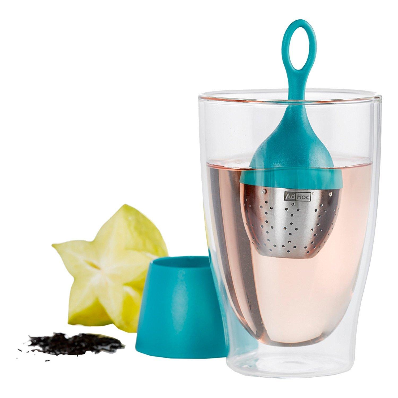 Ad Hoc Floatea Floating Tea Infuser Turquoise