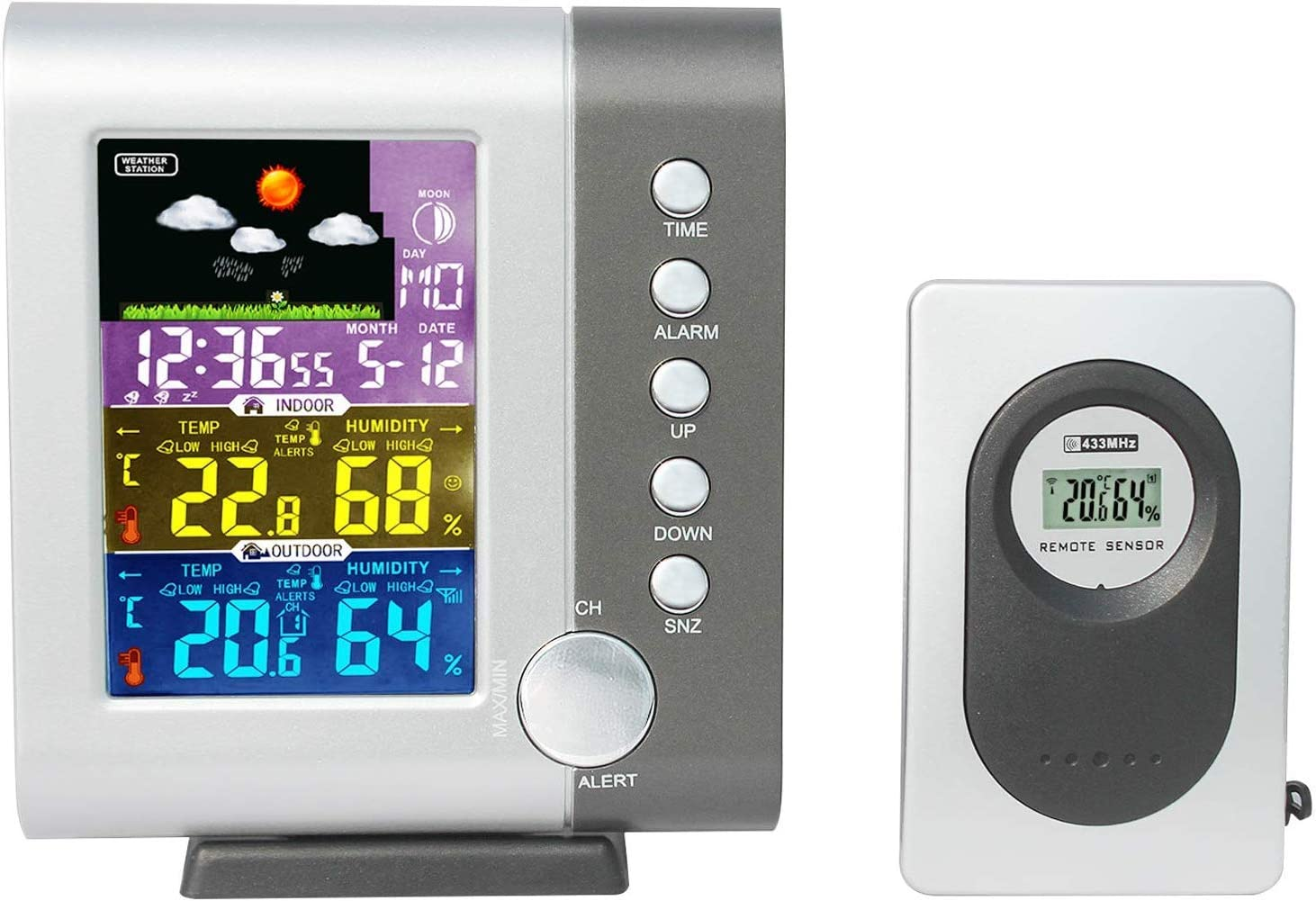 Free Amazon Promo Code 2020 for Atomic Clock Weather Stations Wireless
