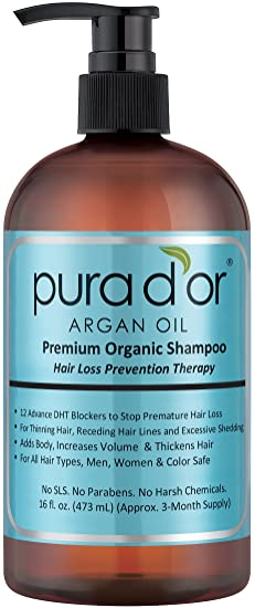Pura d'or Argan Oil Shampoo