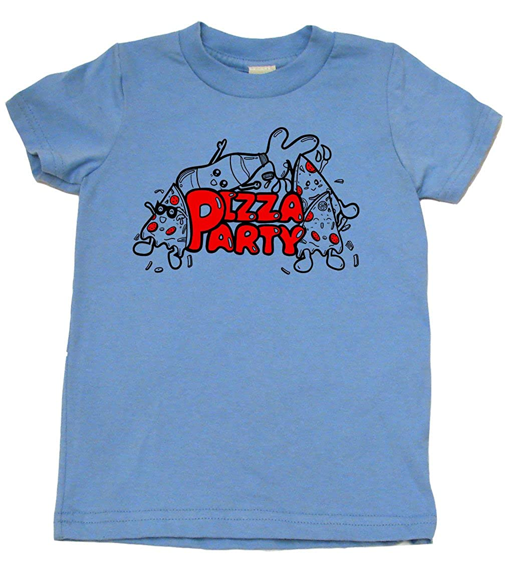 Pizza Party Retro Cool Toddler Clothes Cute Boy Or Girl T-Shirts Retro Cool Baby Gift