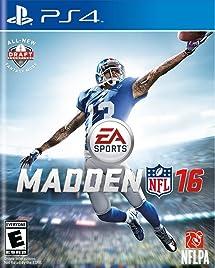225ca38e953 Madden NFL 16 - PlayStation 4: Electronic Arts: Video ... - Amazon.com