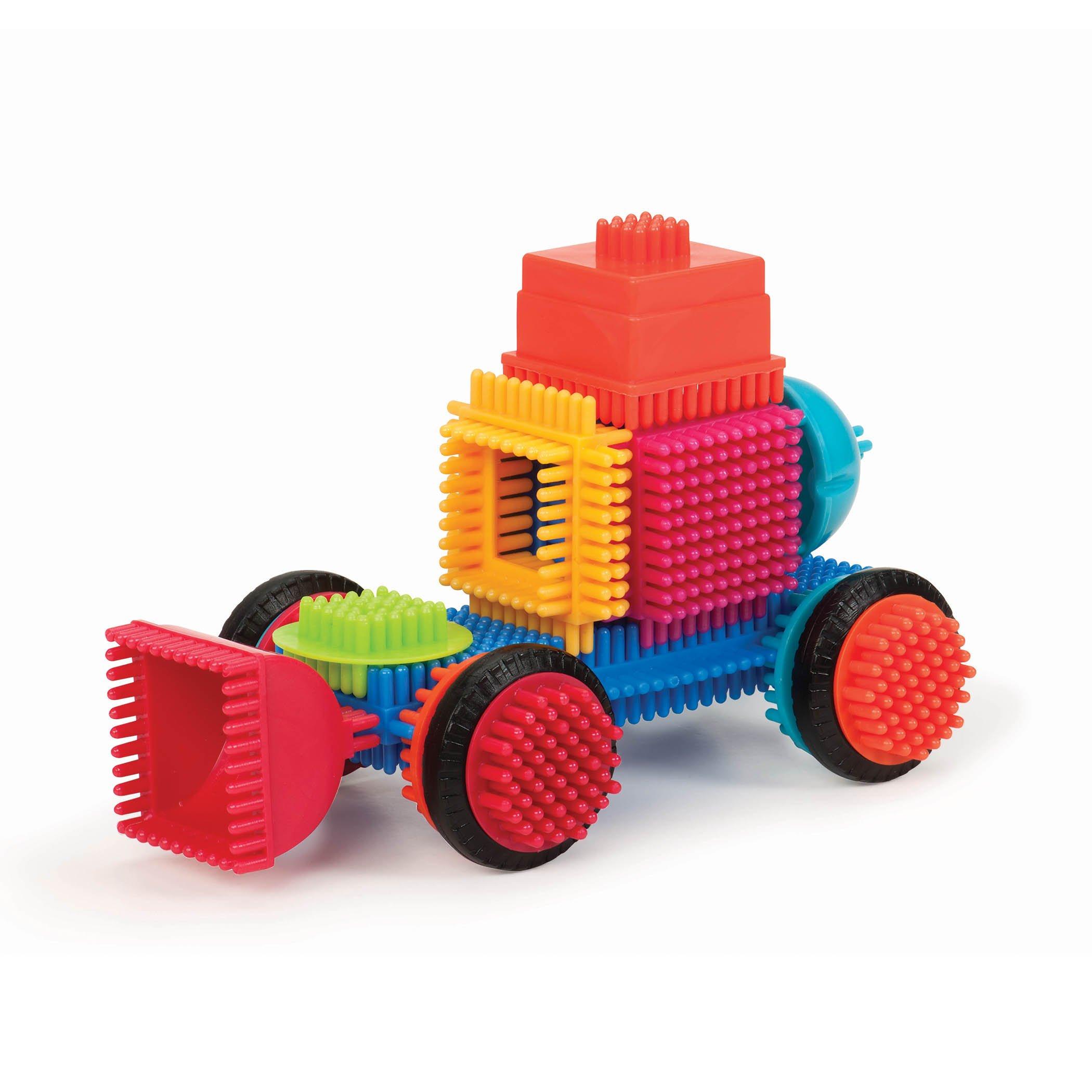 80 Pieces Big Value ... The Official Bristle Blocks Bristle Blocks by Battat