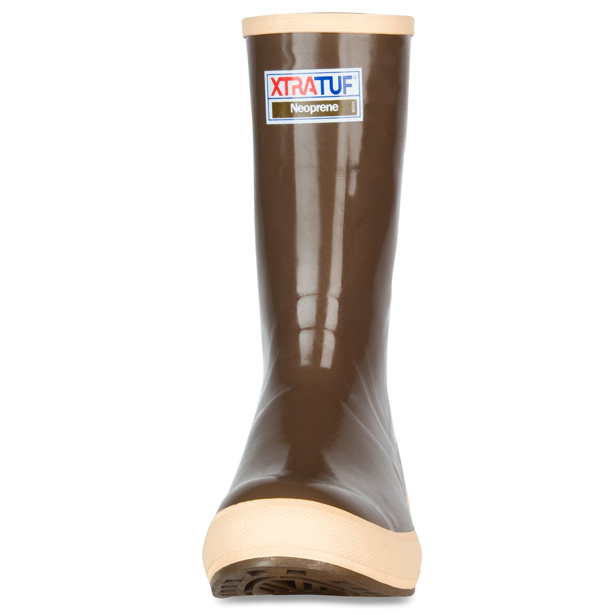 XTRATUF Legacy Series 12'' Camo-Lined Neoprene Men's Fishing Boots, Copper & Tan (22834G) by Xtratuf (Image #2)