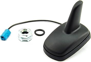 Shark Antena Antena Techo MN/O CONECTOR para Opel Astra G/H, Corsa C/D, MERIVA A, VECTRA C, Signum, Omega B, ZAFIRA A