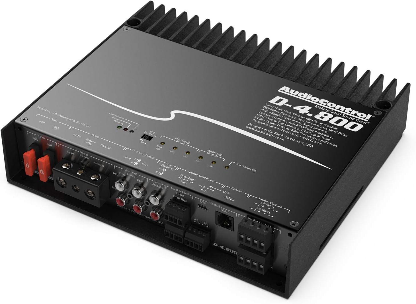 AudioControl D-4.800 High Power Amplifier 3 Channel