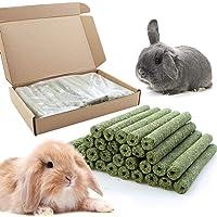 Heatoe 30 Pcs Hay Chewing Stick Pet Molar Stick Pet Molar Toy for Rabbits & Chinchillas & Guinea Pigs & Chinchillas…