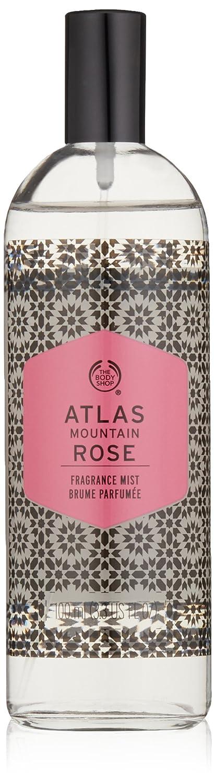 The Body Shop Atlas Mountain Rose Fragrance Mist, 3.3 Fluid Ounce