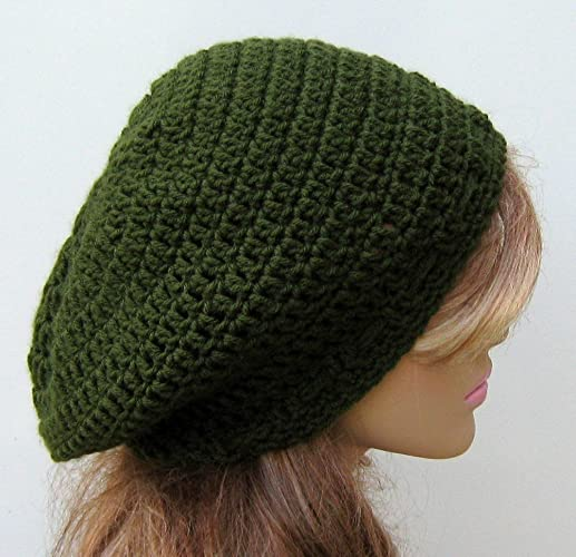 8f361c4ffce Image Unavailable. Image not available for. Color  Handmade Slouchy hat ...