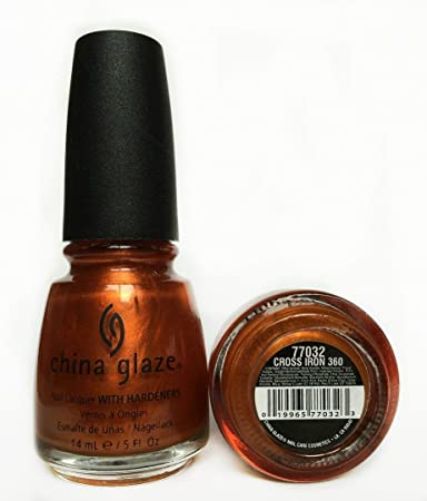 Amazon.com : China Glaze Nail Polish - Cross Iron 360 - 0.5 oz ...