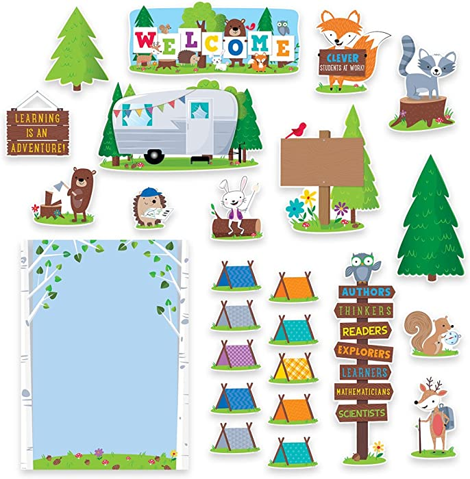 The Best Woodland Creatures Classroom Decor