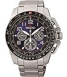 Seiko Prospex  Reloj para hombre solar, cronógrafo ssc275p9