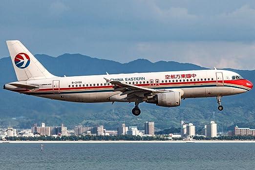 Amazon.com: AVT006 AviationTag Airbus A320 (China Eastern ...