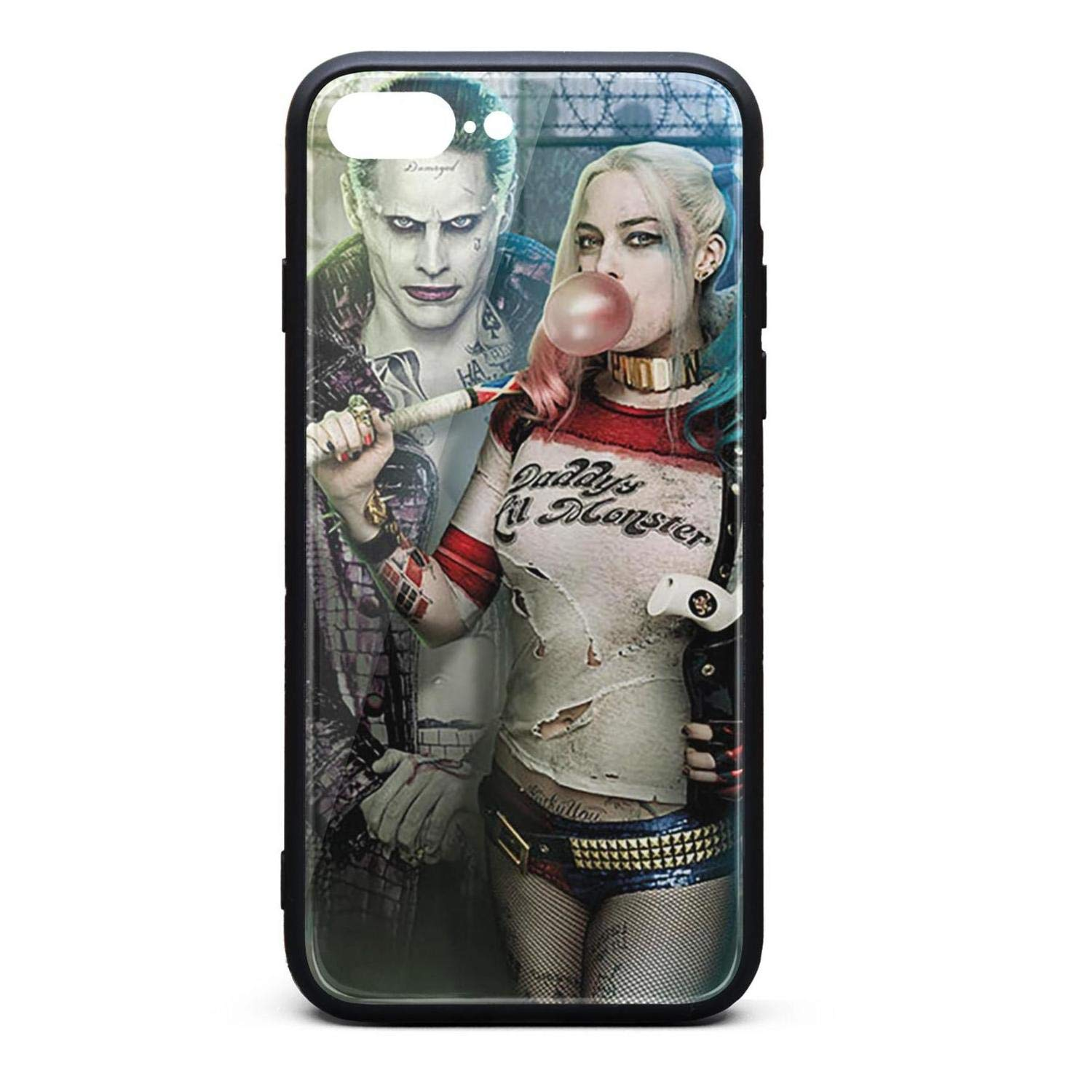 Amazoncom Iphone 7 Plus Case Suicide Squad Harley Quinn