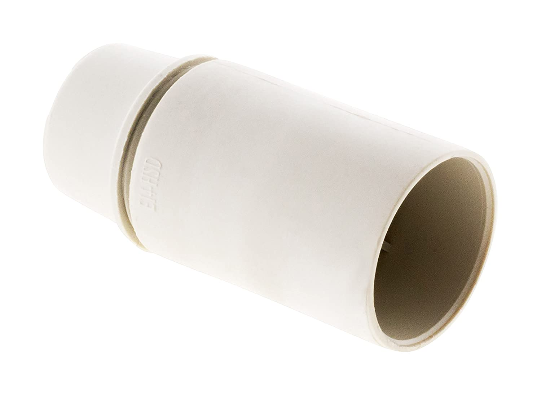 Blanc Inconnu 140710 Douille E14 Thermoplastique Lisse